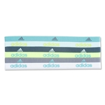 adidas Fighter 6 Pack Hairband (Teal)