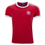 adidas Originals 3 Stripes T-Shirt (Red)