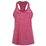 adidas Women's Keyhole Tank (Red)