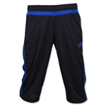 adidas Women's Tiro 15 3/4 Pant (Black/Royal)