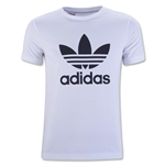 adidas Originals Youth Trefoil T-Shirt (White)
