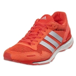 adidas Women's adizero Adios 3 Running Shoe (Solar Red)
