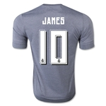Real Madrid 15/16 James Rodriguez Away Soccer Jersey