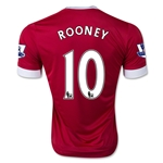 Manchester United 15/16 Wayne Rooney Authentic Home Soccer Jersey