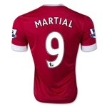 Manchester United 15/16 Anthony Martial Authentic Home Soccer Jersey
