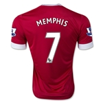 Manchester United 15/16 Memphis Depay Authentic Home Soccer Jersey