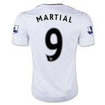 Manchester United 15/16 Anthony Martial Away Soccer Jersey