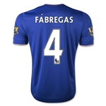Chelsea 15/16  4 Fabregas Home Soccer Jersey