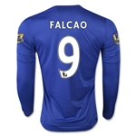 Chelsea 15/16  9 Falcao LS Home Soccer Jersey