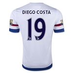 Chelsea 15/16 19 Diego Costa Away Soccer Jersey