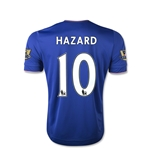 Chelsea 15/16 Eden Hazard Youth Home Soccer Jersey