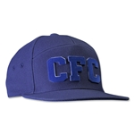 Chelsea Fitted CFC Cap (Navy/Royal)