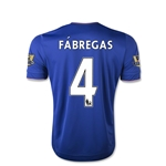 Chelsea 15/16  4 Fabregas Youth Home Soccer Jersey