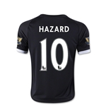 Chelsea 15/16 10 Hazard Youth Third Soccer Jersey