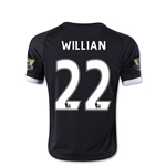 Chelsea 15/16 Willian Youth Third Soccer Jersey