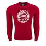 Bayern Munich Halftone LS T-Shirt (Red)