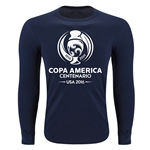 Copa America 2016 LS Single Color Emblem Supersoft T-Shirt (Navy)