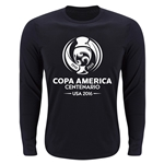 Copa America 2016 LS Single Color Emblem Supersoft T-Shirt (Black)