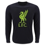 Liverpool Hi Vis LS T-Shirt (Black)