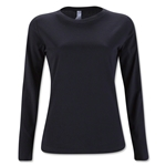 Women's Long Sleeve T-Shirt (Black)