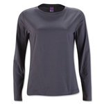 Women's Long Sleeve T-Shirt (Dk Gray)