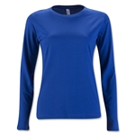 Women's Long Sleeve T-Shirt (Royal Blue)