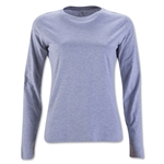 Women's Long Sleeve T-Shirt (Gray)