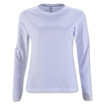 Women's Long Sleeve T-Shirt (White)