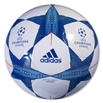 adidas Finale 15 Capitano Ball (White/Bright Cyan)