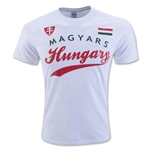 Hungary Banner T-Shirt (White)
