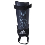 adidas Messi 10 Youth Shinguard (Night Gray/Matte Ice)