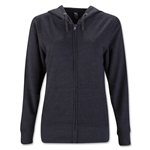 Women's Lightweight Full-Zip Hoody (Dk Gray)