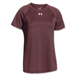 Under Armour Men's Stripe Tech S/S Tee (Maroon)