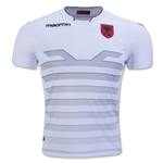 Albania 2016 Authentic Away Soccer Jersey