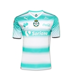 Santos Laguna 16/17 Youth Home Soccer Jersey