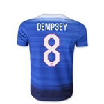 USA 2015 Clint Dempsey Youth Away Soccer Jersey