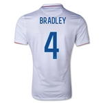 USA 14/15 Michael Bradley Authentic Home Soccer Jersey