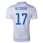 USA 14/15 Jozy Altidore Authentic Home Soccer Jersey