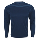 Badger C2 Long Sleeve Poly Top (Navy)