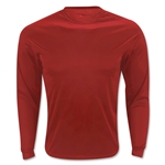 Badger C2 Long Sleeve Poly Top (Red)