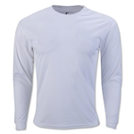Badger C2 Long Sleeve Poly Top (White)