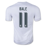 Real Madrid 15/16 Gareth Bale Soccer Home Jersey