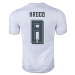 Real Madrid 15/16 Toni Kroos Home Soccer Jersey