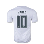 Real Madrid 15/16 James Rodriguez Youth Soccer Home Jersey