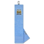 Manchester City Embroidered Towel