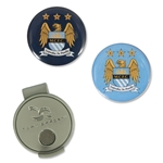 Manchester City Hat Clip & Ball Markers