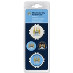 Manchester City Ball Marker Set