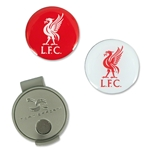 Liverpool Hat Clip & 2 Ball Markers