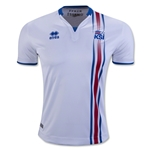 Iceland 2016 Away Soccer Jersey