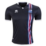 Iceland 2016 Third Soccer Jersey